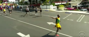 VIDEO USAIN BOLT JAMES CORDEN