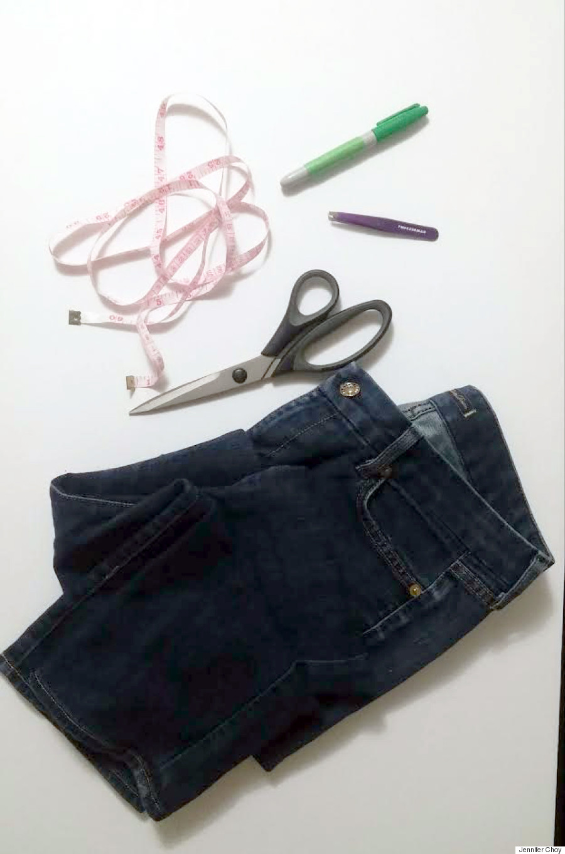 DIY Frayed Jeans: How To Fray Your Denim Into Fringed Hem ...