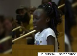 9-Year-Old Delivers Tearful Speech On 'Shame' Of Police Shootings