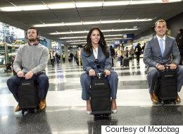 이제 당신은 기내용 여행가방을 탈 수도 있다(동영상)