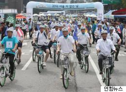 서울과 파리 시민이 함께 걷는 날