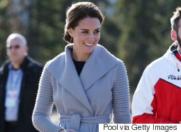 Kate Middleton Wears Sophie Grégoire-Fave Sentaler In Yukon
