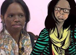 Une bande-dessinée met à l'honneur les survivantes d'attaques à l'acide