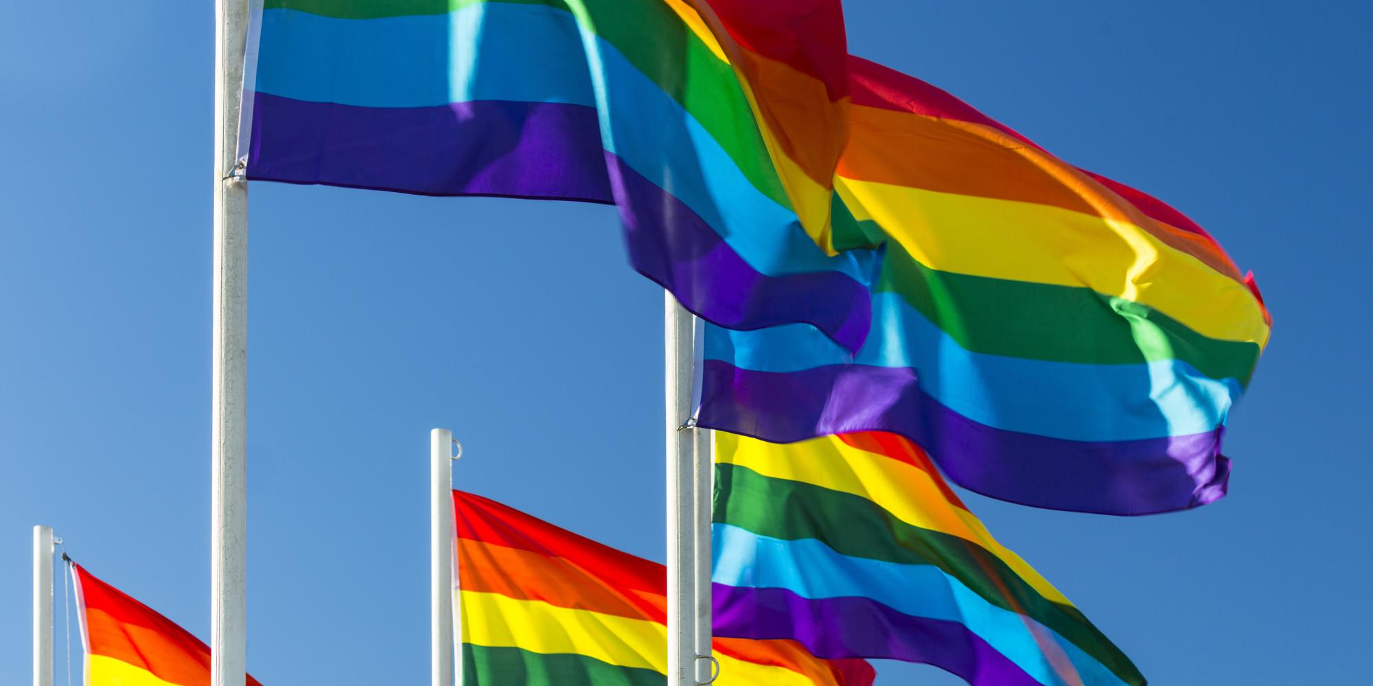Gay community flag