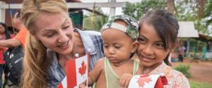 CAMBODIA AID WORKER