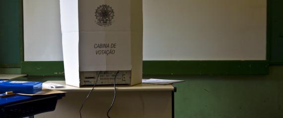 ELECTRONIC BALLOT BOX BRAZIL