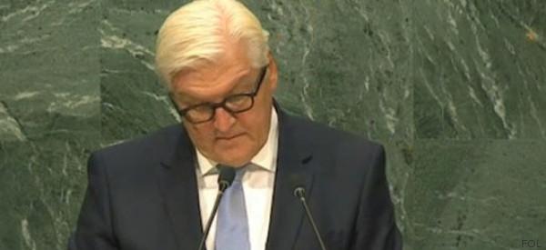 Auswärtiges Amt lässt UN-Vollversammlung für Steinmeier applaudieren - an der falschen Stelle