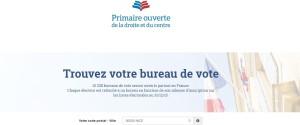 BUREAUX VOTE PRIMAIRE