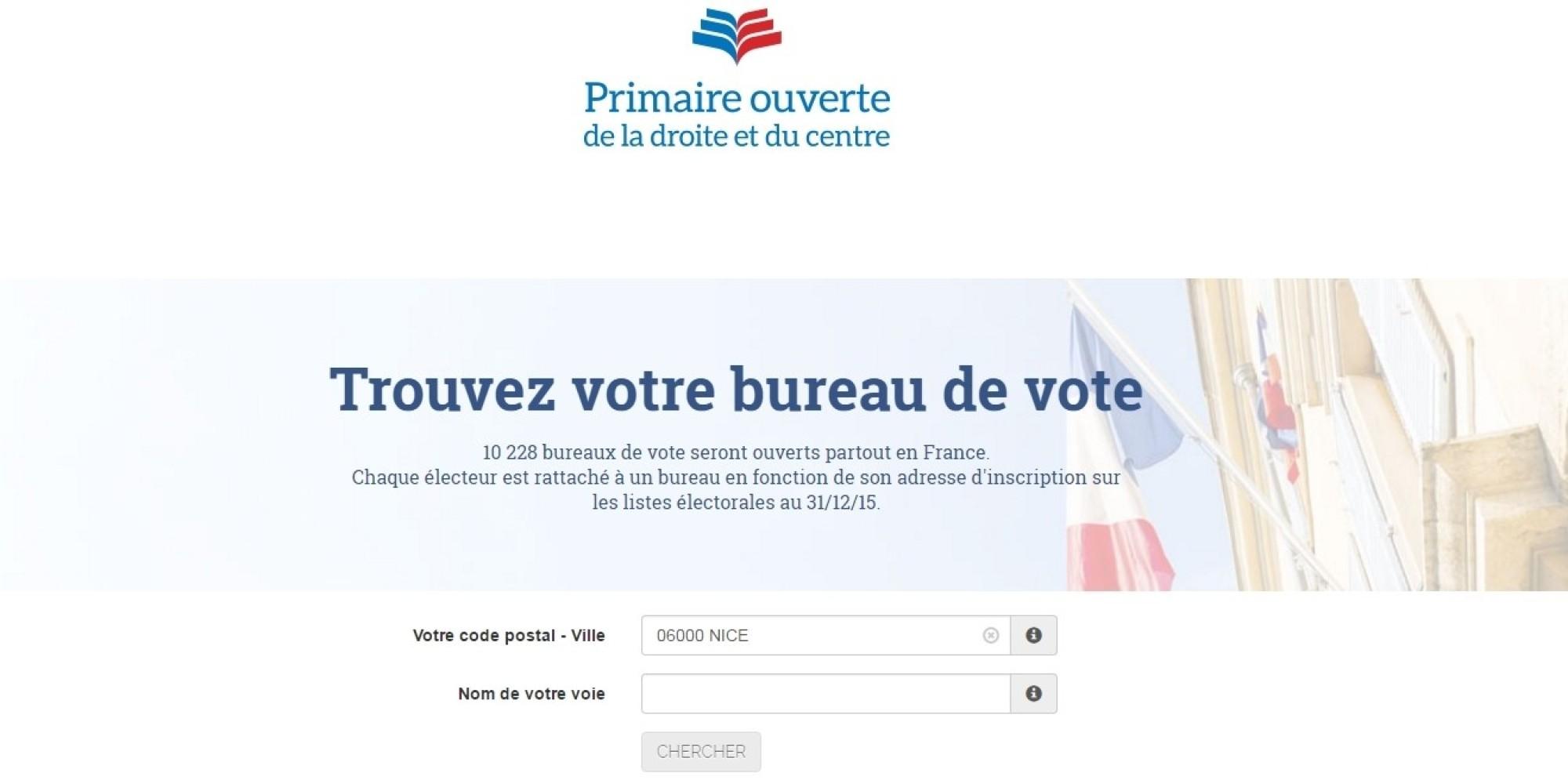 voici le bureau o 249 vous pourrez voter 224 la primaire des r 233 publicains ce qu il ne fallait pas