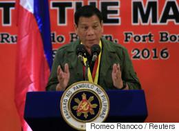 두테르테, '독일에 히틀러가 있었다면 필리핀엔 내가 있다'
