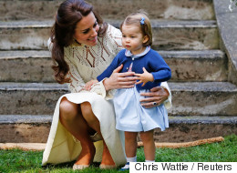 Princess Charlotte Walking And Talking Is Absolutely Adorable