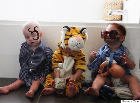 triplet costumes
