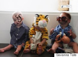 Beautiful Story Behind Triplets And Their Hilarious Costumes