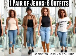 How To Style 1 Pair Of Jeans 6 Ways For Fall