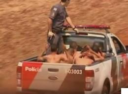 브라질에서 교도소 수감자 470명이 집단 탈옥하는 일이 발생했다(영상)