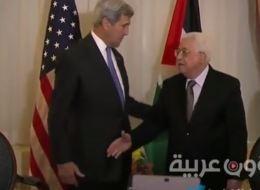 موقف مُحرج.. فيديو لـكيري وهو يتجاهل مصافحة عباس، هل تعمّد ذلك؟