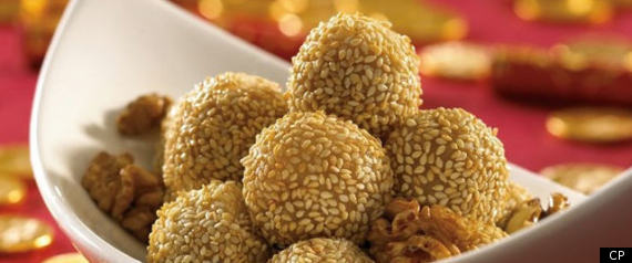 GOLDEN BALLS CHINESE NEW YEAR RECIPE