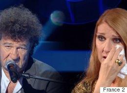 Céline Dion craque et fond en larmes face à Robert Charlebois