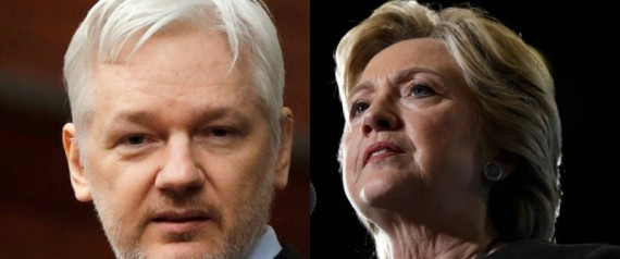 JULIAN ASSANGE HILLARY CLINTON