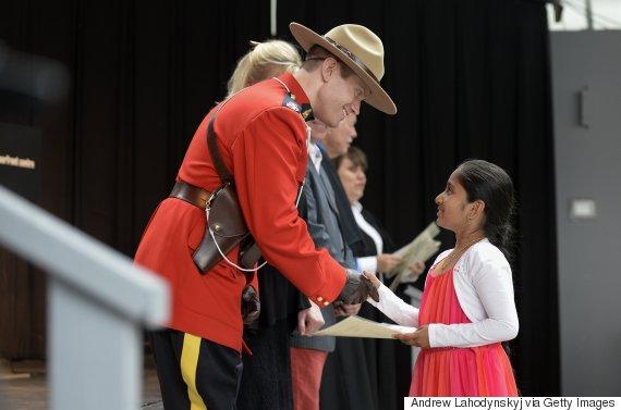 canada citizenship ceremony