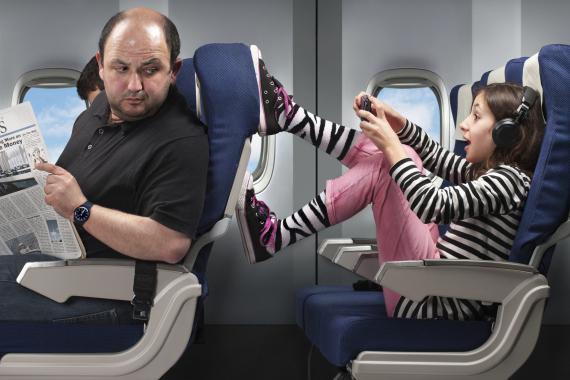 bad passenger plane