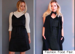 1 Little Black Dress, 4 Ways For Fall