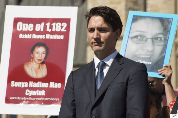 trudeau missing murdered women inquiry