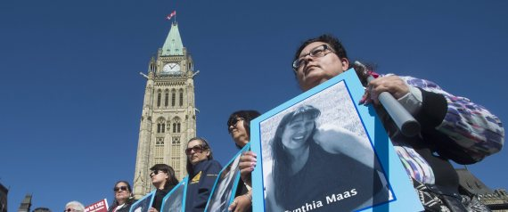 MISSING MURDERED WOMEN RALLY