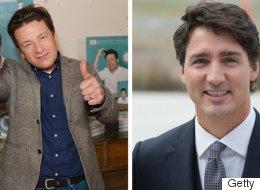 Le chef Jamie Oliver enthousiaste de la vision de Justin Trudeau sur la santé des enfants (VIDÉO)