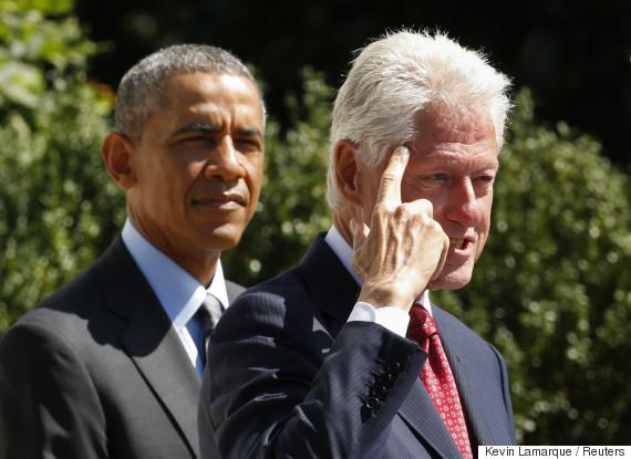 obama bill clinton