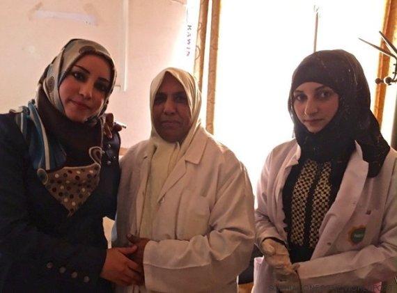 iraquianas e enfermeira