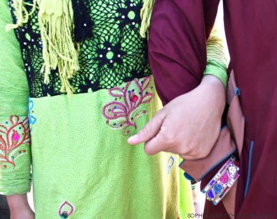 adolescentes iraquianas