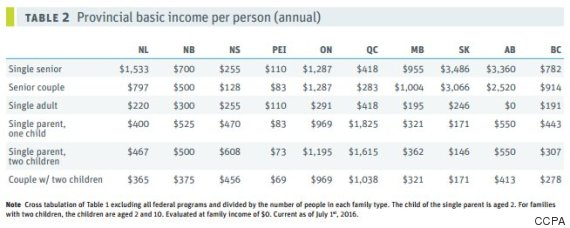 provincial basic income