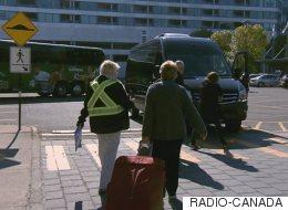 Québec: l'aéroport et le terminal des croisières désertés par les taxis