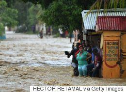 Les États-Unis, nouvelle proie de Matthew qui a fait neuf morts dans les Caraïbes