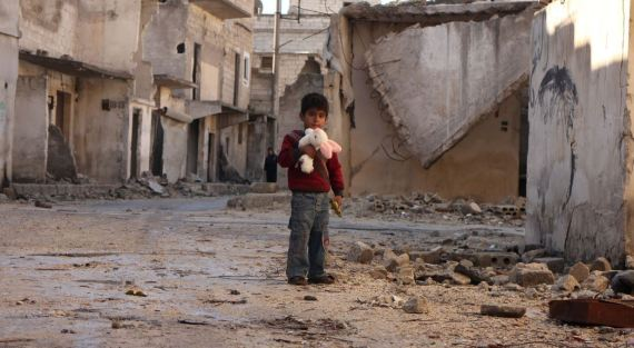 children aleppo