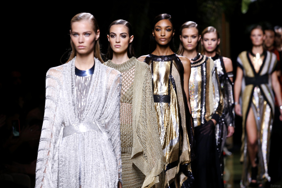 balmain fashion week 2016 paris