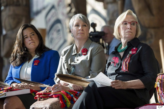 jody wilson raybould patty hajdu carolyn bennett