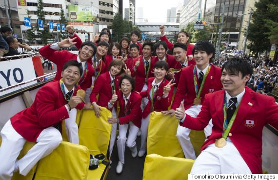 parade tokyo 2016 rio