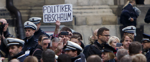 POLITIC PROTEST GERMANY