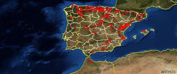 mapa tejo