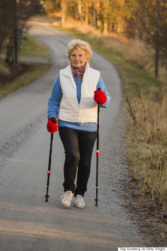 Health Benefits Of Nordic Walking (Using Poles)