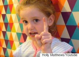 Une fillette de 5 ans chicane la première ministre de l'Angleterre