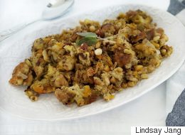 Sage And Apricot Sourdough Stuffing Recipe