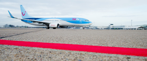 TUIFLY AIRPLANE