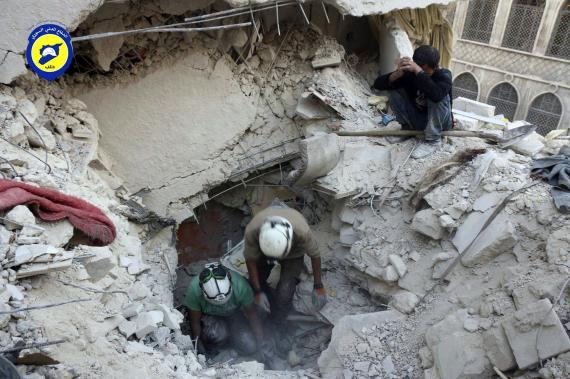 white helmet syria