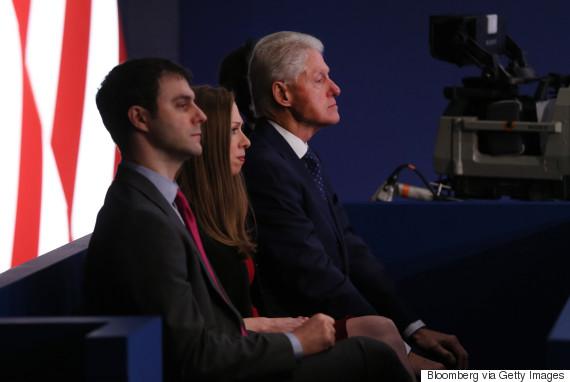clinton trump debate bill clinton