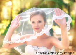 Hochzeit: Brautfrisur mit Schleier – so geht's