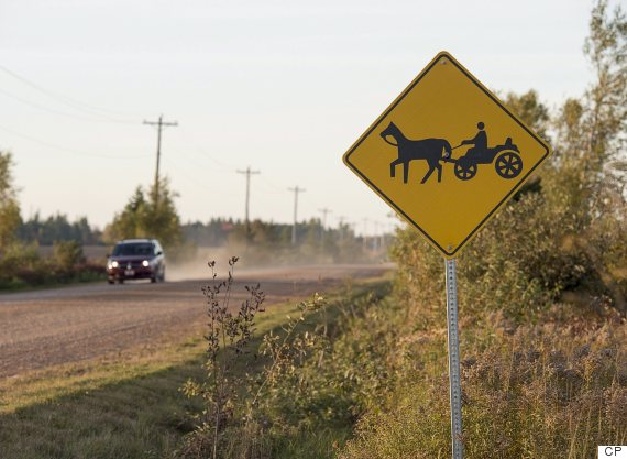 amish sign pei