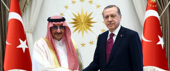 ERDOGAN AND THE KING OF SAUDI ARABIA